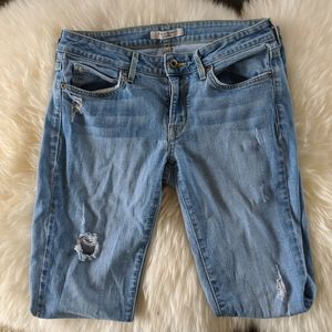 Rich and Skinny distressed skinnies sz 27
